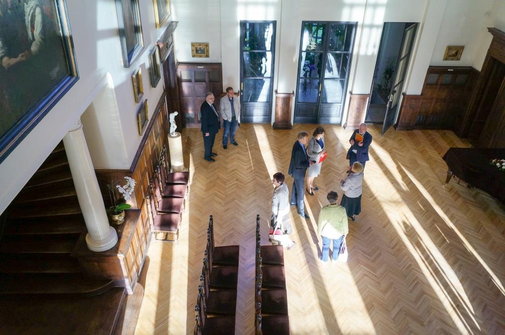 Svinības Rokišķu muzejā