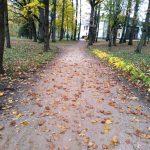 Muižas parks 4.oktobrī